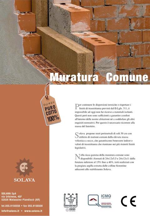 Muratura Comune