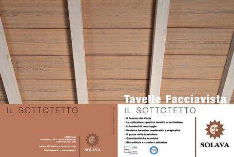 Brochure Tavelle Sottotetto