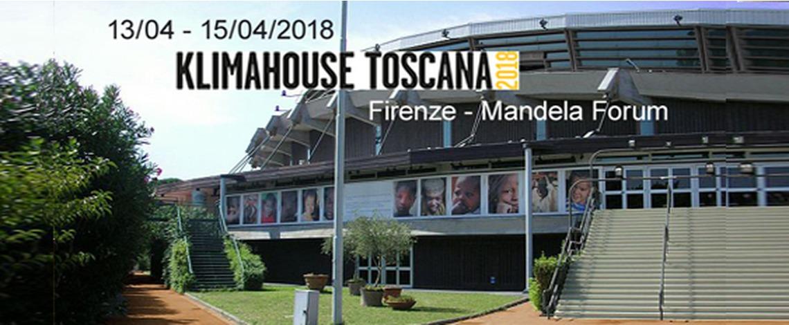 Fiera Klimahouse Toscana Aprile 2018